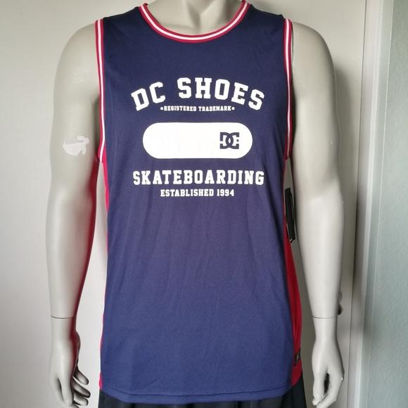 de109ab3c6e24 DC Shoes Tank Top Mens Jersey NWT Medium